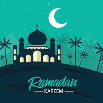 Cartão de ramadã