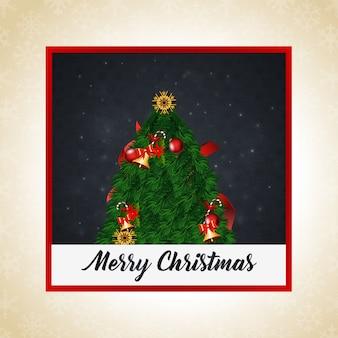 Cartão de saudação de natal