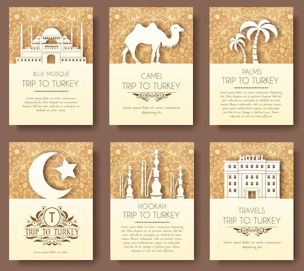 Cartão de saudação étnico decorativo tradicional de arte