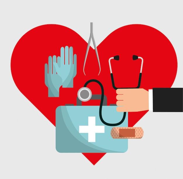 Cartão de saúde médico