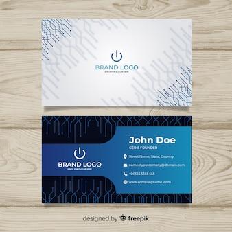 Cartão de tecnologia