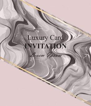 Cartão de textura de mármore