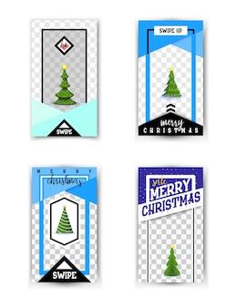 Cartão de venda feliz natal