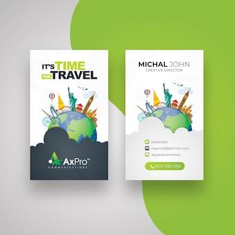 Cartão de viagem
