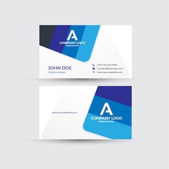 Cartão de visita com fundo branco