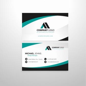 Cartão de visita da empresa