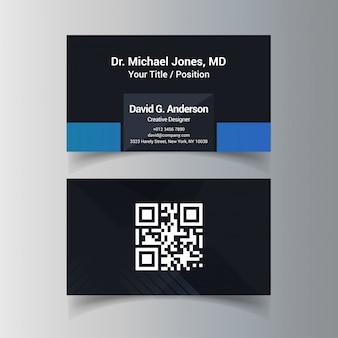Cartão de visita designer criativo