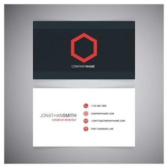 Cartão de visita do diretor de criação