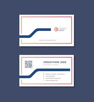 Cartão de visita e cartão pessoal