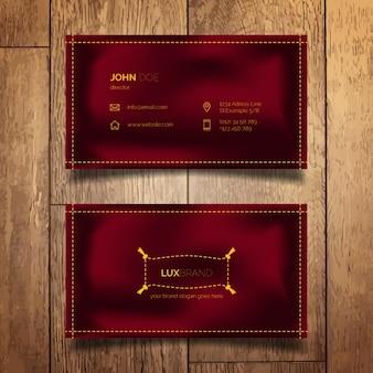 Cartão de visita elegante simples
