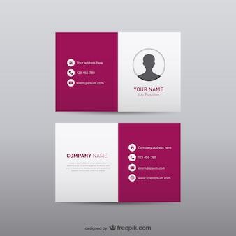 Cartão de visita livre identidade visual