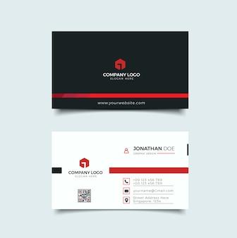 Cartão de visita profissional moderno