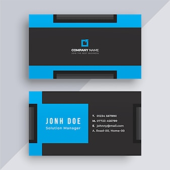 Cartão de visita vermelho moderno para sua marca