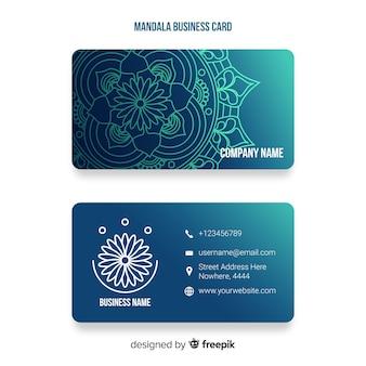 Cartão decorativo no estilo mandala