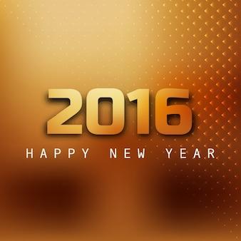 Cartão do ano novo em grande estilo dourado