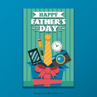 Cartão do dia de pai