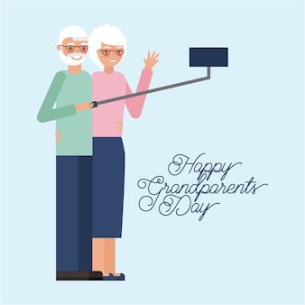 Cartão do dia dos avós