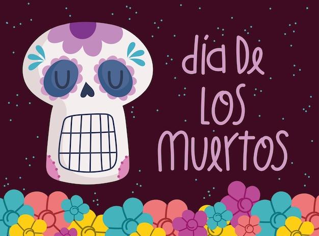 Cartão do dia dos mortos