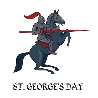Cartão do dia st.georges.