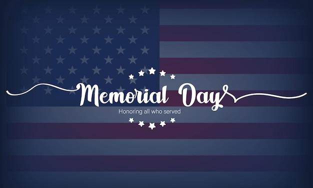 Cartão do feliz dia do memorial. cartaz de letras com texto em homenagem aos nossos heróis.
