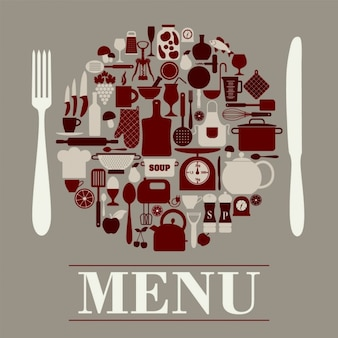 Cartão do menu