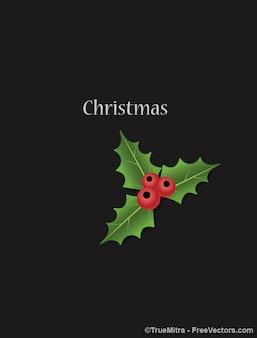 Cartão do natal ornamento