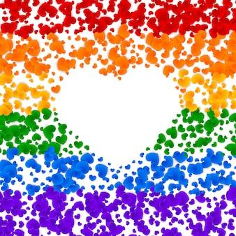 Cartão do orgulho de lgbt
