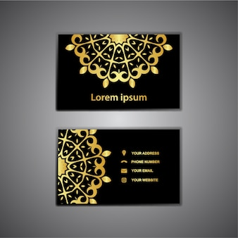 Cartão elegante