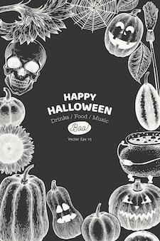 Cartão especial de halloween