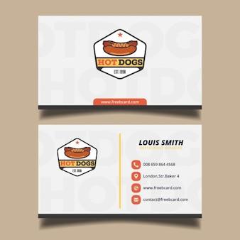 Cartão fast food