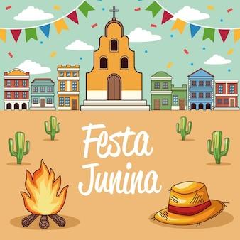 Cartão festa junina