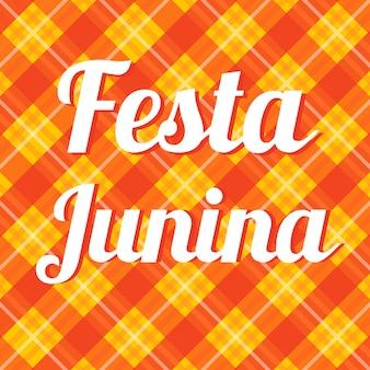 Cartão festa junina.