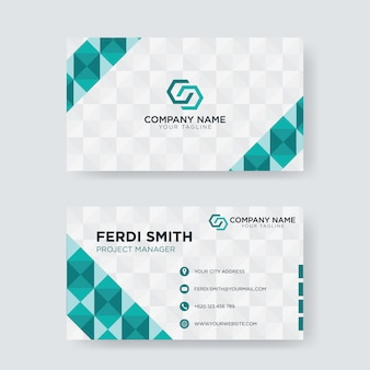 Cartão geométrico