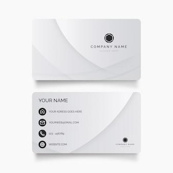 Cartão moderno com formas abstratas