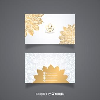 Cartão moderno com mandala