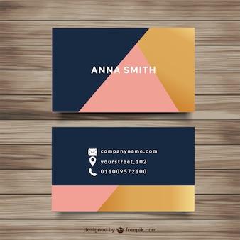 Cartão no estilo minimalista