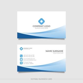 Cartão ondulado simples editável