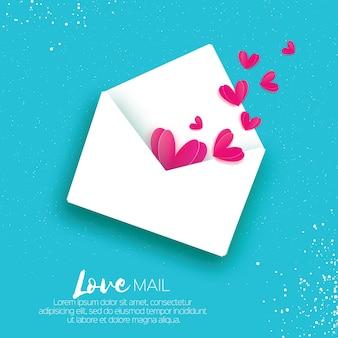 Cartão para dia dos namorados.