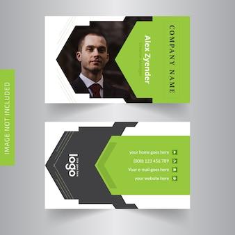 Cartão pessoal para escritório
