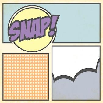 Cartão pop art