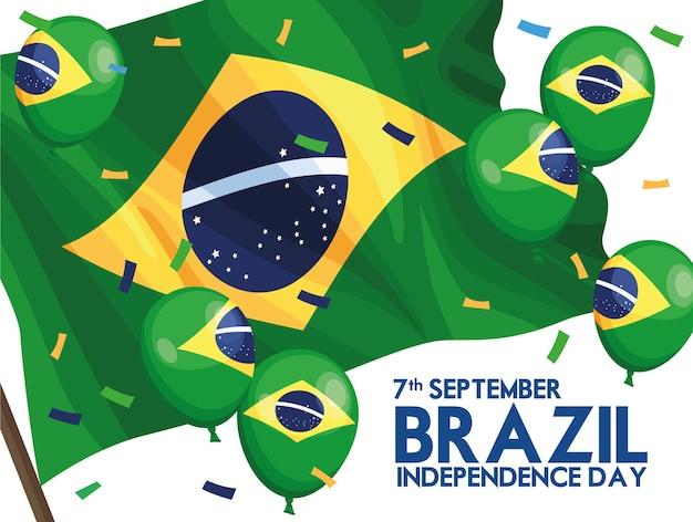 Cartão postal da independência do brasil
