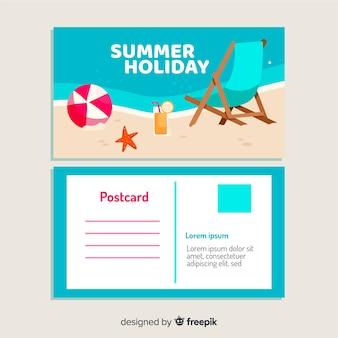 Cartão postal de férias