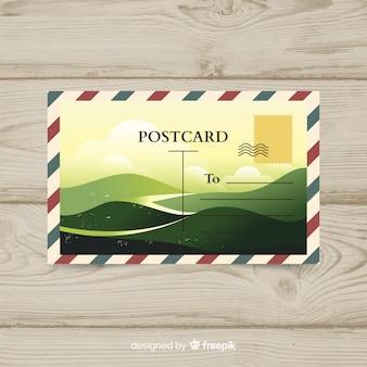 Cartão postal de verão