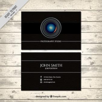 Cartão preto para a fotografia