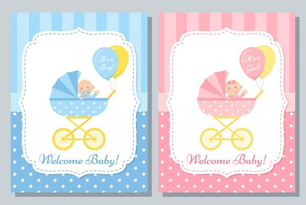 Cartão recém-nascido
