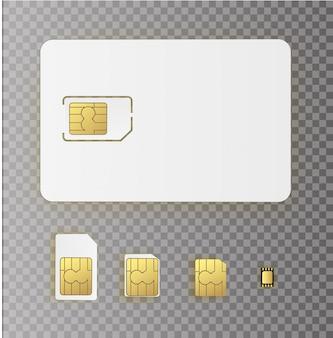 Cartão sim incorporado esim. nova tecnologia de comunicação celular móvel com chip. defina cartões sim para dispositivos móveis com chip.
