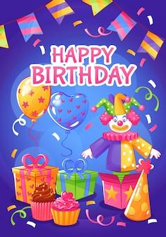 Cartaz da festa de aniversário