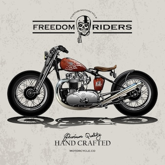 Cartaz da motocicleta do interruptor inversor
