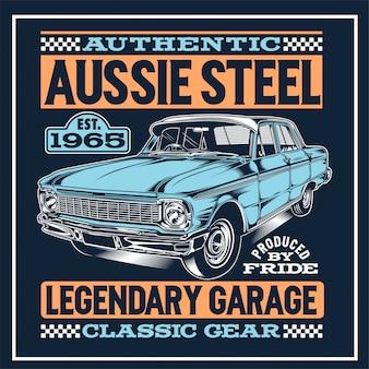 Cartaz de aço australiano