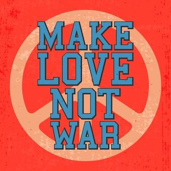 Cartaz de amor vintage